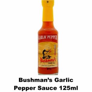 Bushmans Garlic Pepper Sauce 125ml