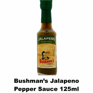 Bushmans Jalapeno Pepper Sauce 125ml