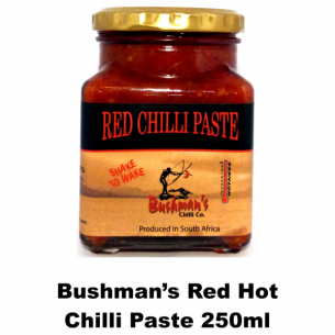 Bushmans Red Chilli Paste 250ml