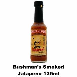 Bushmans Smoked Jalapeno 125ml