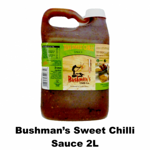 Bushmans Sweet Chilli Sauce 2L