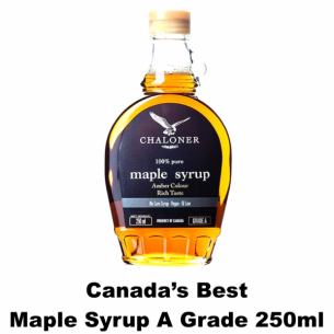 Chaloner Canada's Best A Grade Maple Syrup