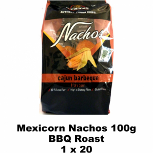 Mexicorn Nachos 100g BBQ Roast