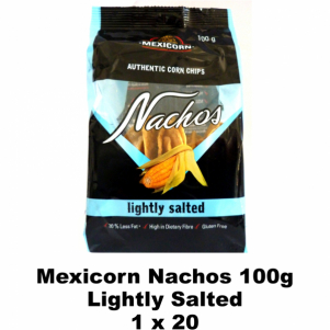 Mexicorn Nachos 100g Lightly Salted