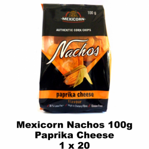 Mexicorn Nachos 100g Paprika Cheese