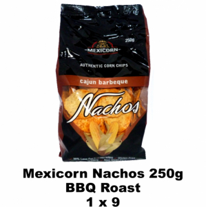 Mexicorn Nachos 250g BBQ Roast