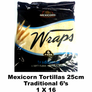 Mexicorn Tortillas 25cm Traditional