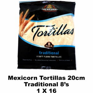Mexicorn Tortillas 8's Traditonal