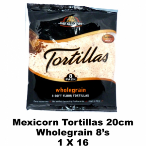 Mexicorn Tortillas 8's Wholegrain