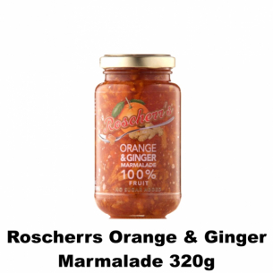 Roscherrs Orange & Ginger Marmalade