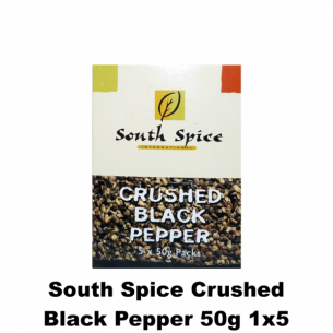 South Spice Crushed Black Pepper