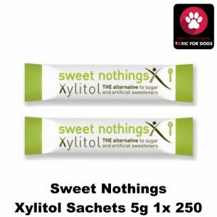 Sweet Nothings Xylitol Sachets 5g 1x250