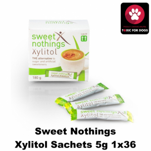 Sweet Nothings Xylitol Sachets 5g 1x36