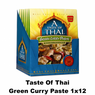 Taste of Thai Green Curry Paste
