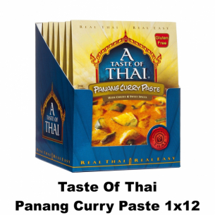 Taste of Thai Panang Curry Paste