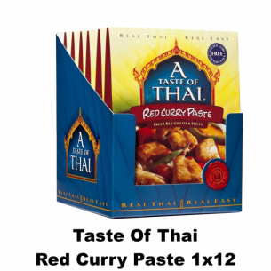 Taste of Thai Red Curry Paste